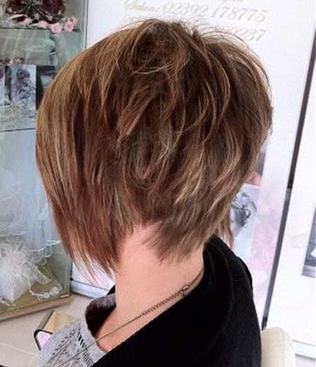 Messy Rebellious Thick Bob