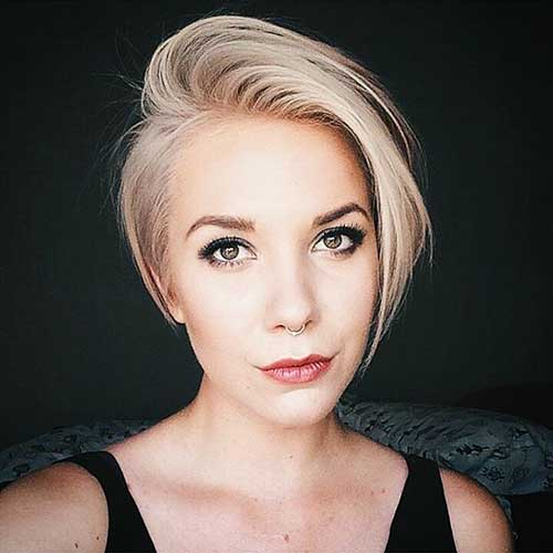 Short Blonde Hair - 7