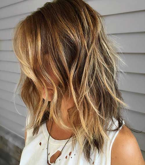 Short Layered Hairstyles 2018 - 17