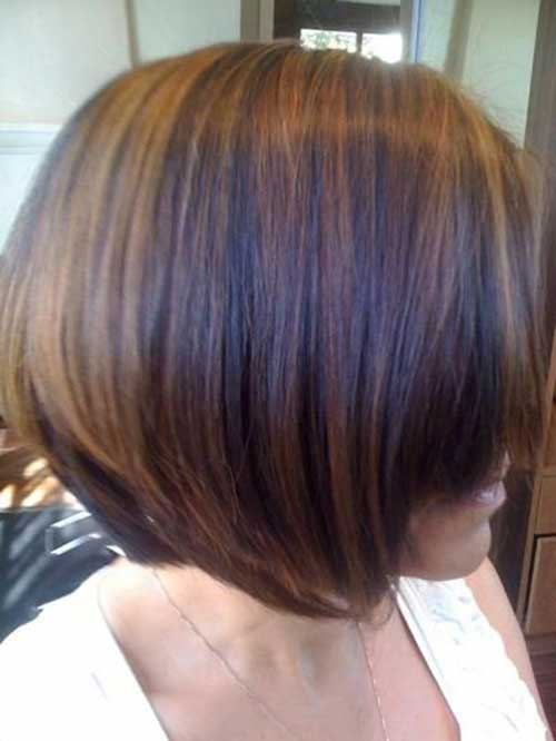 Straight Brown Bob Hairstyles