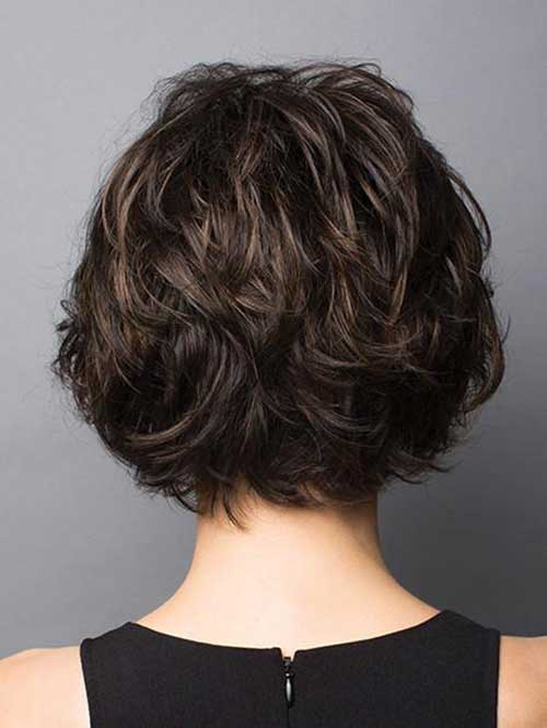 Brunette Short Haircuts-8