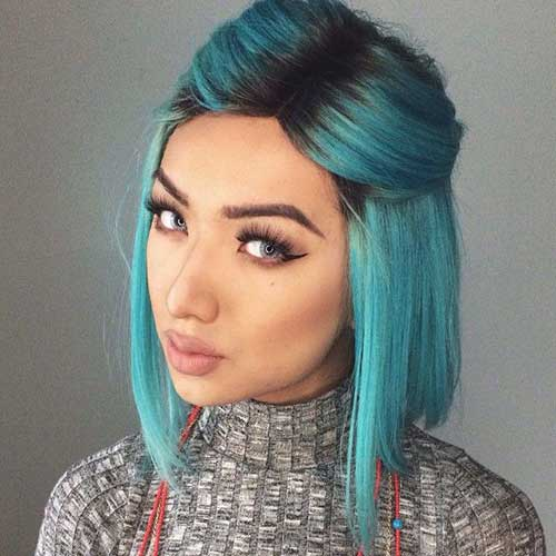 Cute And Easy Hairstyles For Short Hair-18