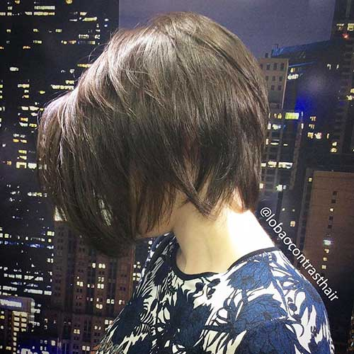 Super Short Layered Hairstyles - 25