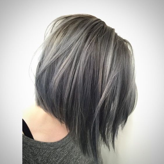 silver-gray-pastel-hair-short-haircuts-2018