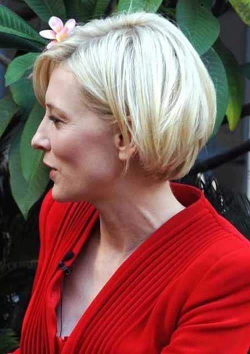 Chic Blonde Bob Hairstyles Pictures