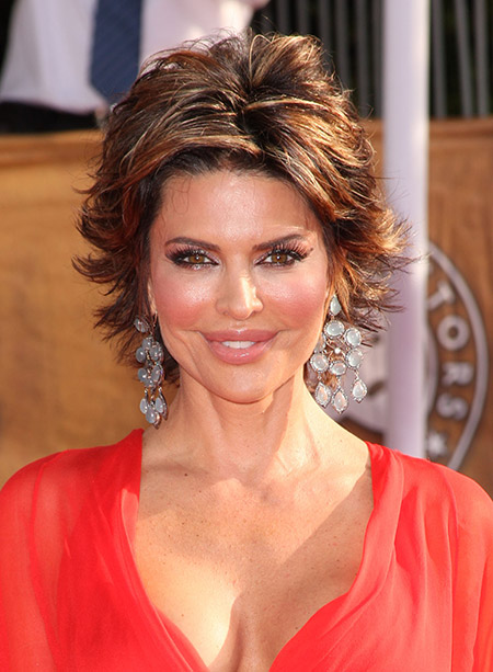 Lisa Rinna's Awesome and Fabulous Flip Out Bob Cut