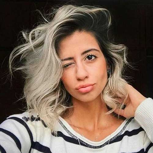 Short Messy Hairstyle - 30