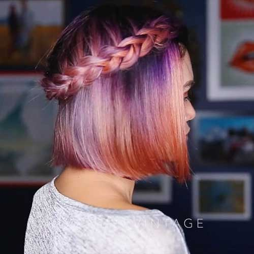Braids for Short Hairstyle