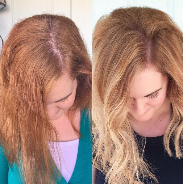 Shaggy Hairstyle for Medium Length Hair - Blonde Balayage Ombre