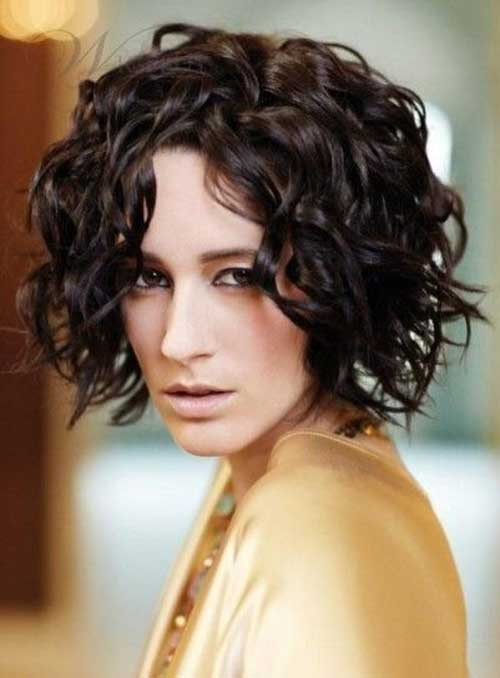 Short Curly Bob Hairstyles for 2018