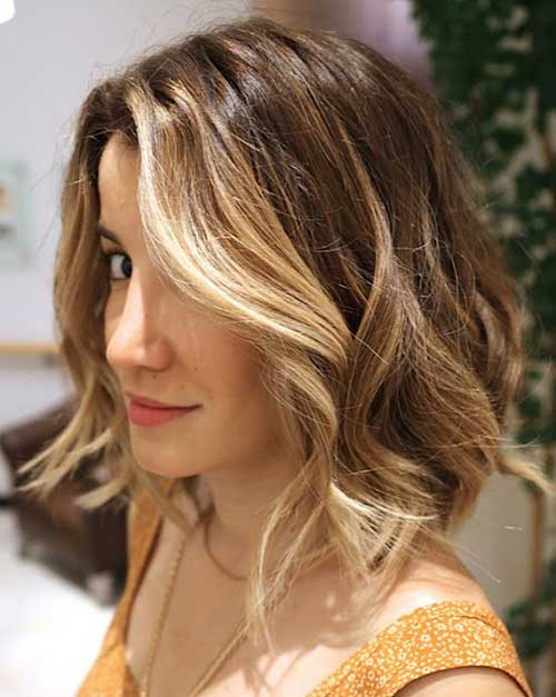 Ombre Highlighted Hairstyles for Women Bobs