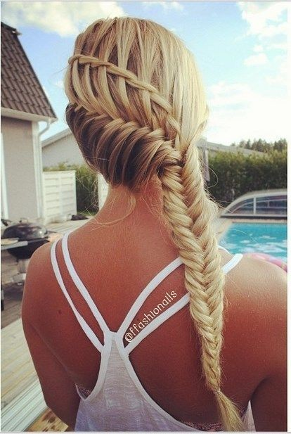 Combo Cool Braided Frisur - Sommerfrisuren für langes Haar