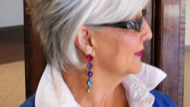 Bild von 35 Short Hair for Older Women