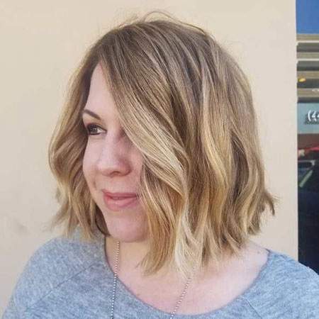 Soft Waves, Balayage Bob Hair Faces
