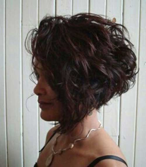 Short Haircuts for Curly Wavy Hair-9