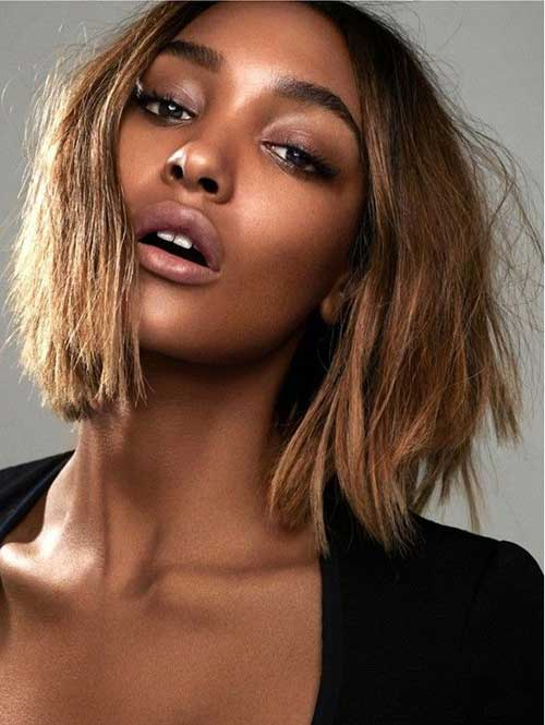 Long Bob for Black Women
