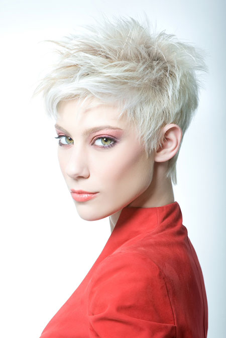 Fantastic Messy Pixie Cut