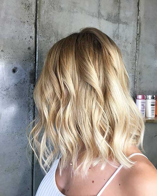 Short Blonde Hairstyles 2018 - 8