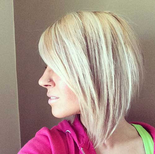 Inverted Long Bob Haircuts for Thick Blonde Hair