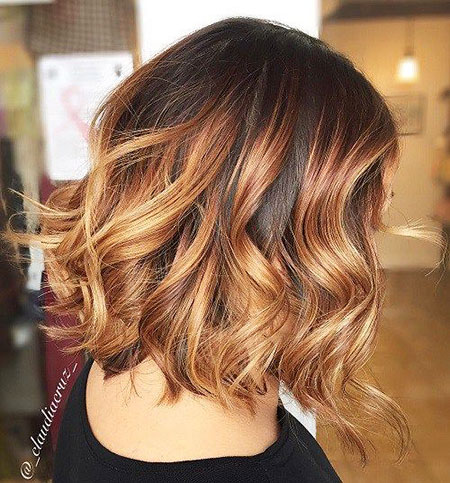 Hair Ombre Balayage Brown