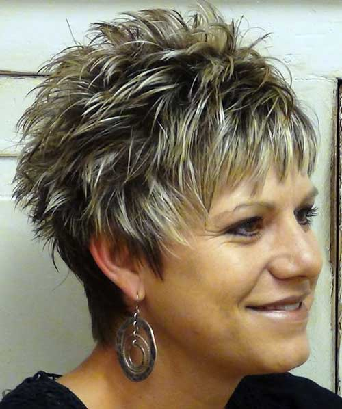 Short Pixie Hair Cuts for Women Over 40