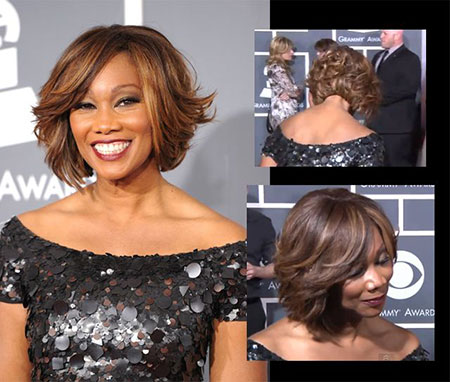 Yolanda Adam's Feather Bob Cut