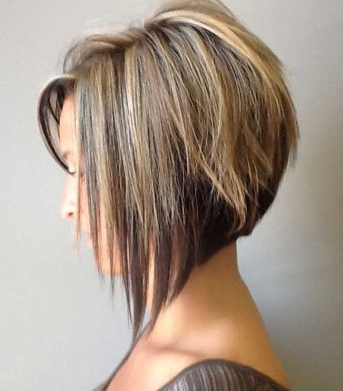 Inverted Bob Hairstyles Pictures