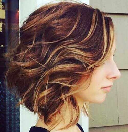 Short Curly Hairstyles for Women 2018 - 13