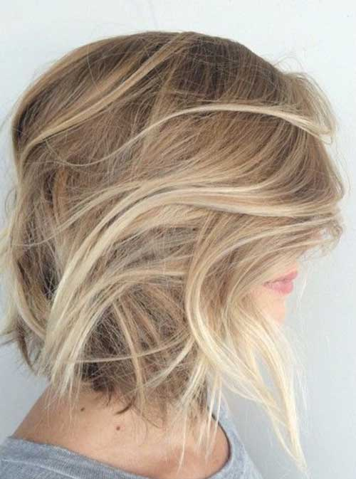 Blonde Balyage Bobs for Girls