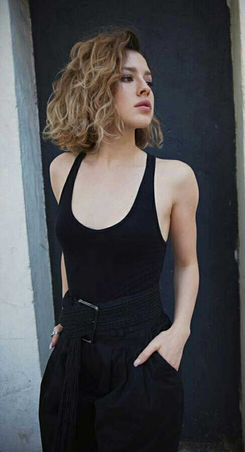 Short Curly Hairstyles 2018-18