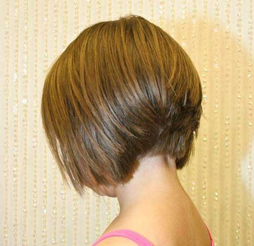 Stacked Inverted Bob Back Look