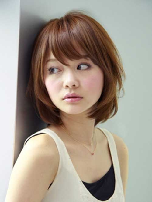 Bangs and Japanese Bob Haircuts