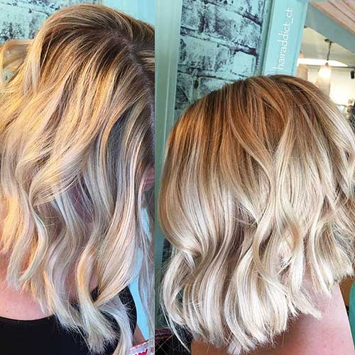 Short Blonde Hair 2018 - 32