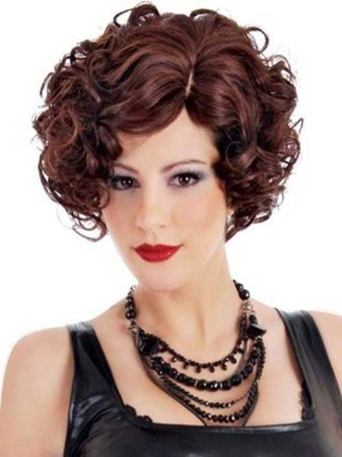 Curly Chic Bob Hair Cuts 2018