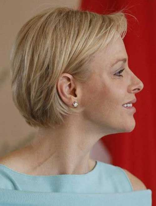 Cute Hairstyle for Short Hair-11