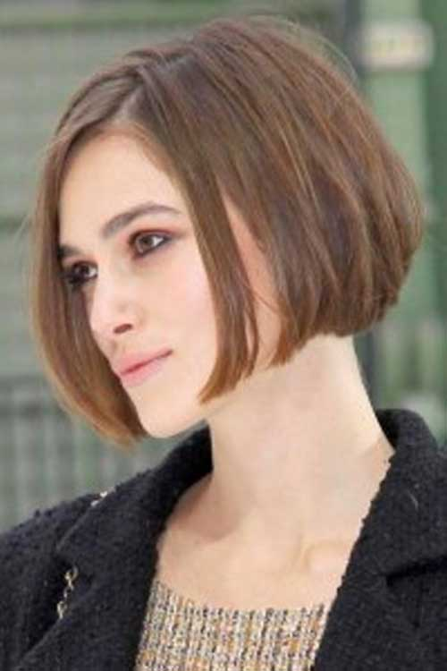 Keira Knightley Straight Haircuts
