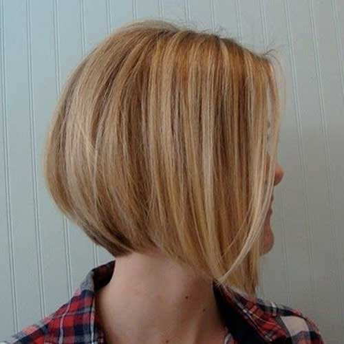 Short Highlighted Bob Hairstyle for 2018