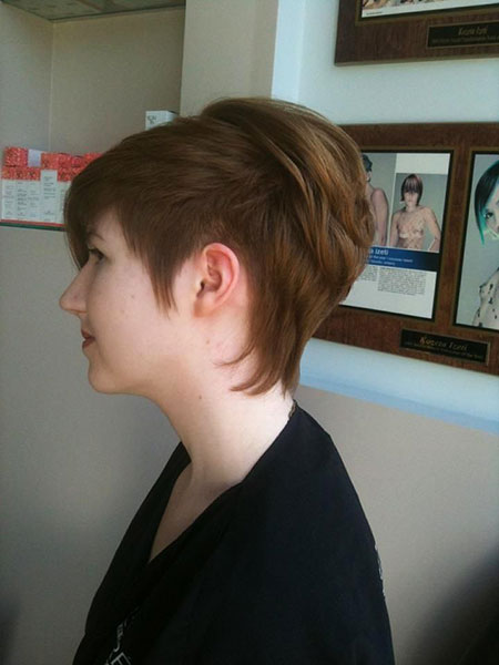 Pixie Choppy Cut Tapered