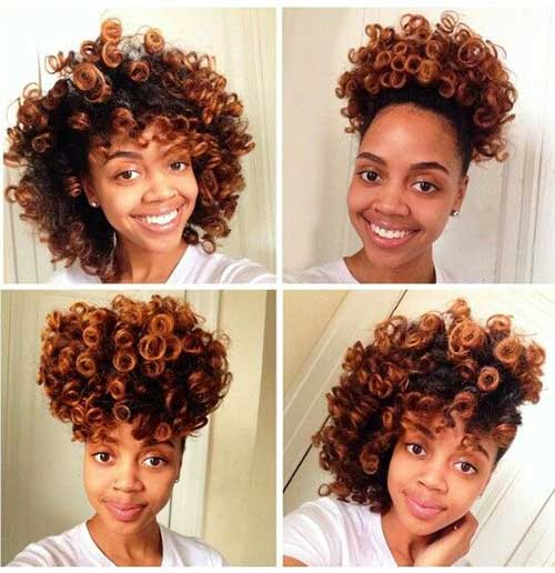 Black Women with Short Natural Hair