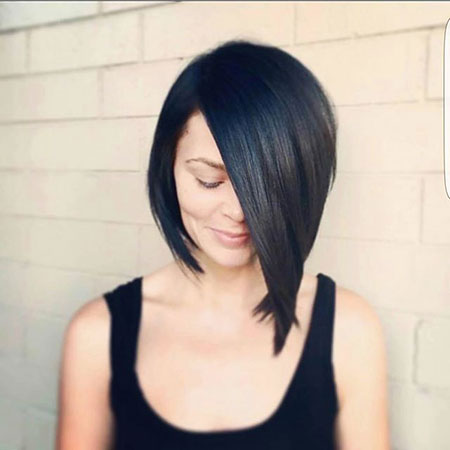 Asymmetrical Bob Cut