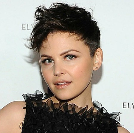 Ginnifer Goodwin's Lovely Messy Pixie Cut