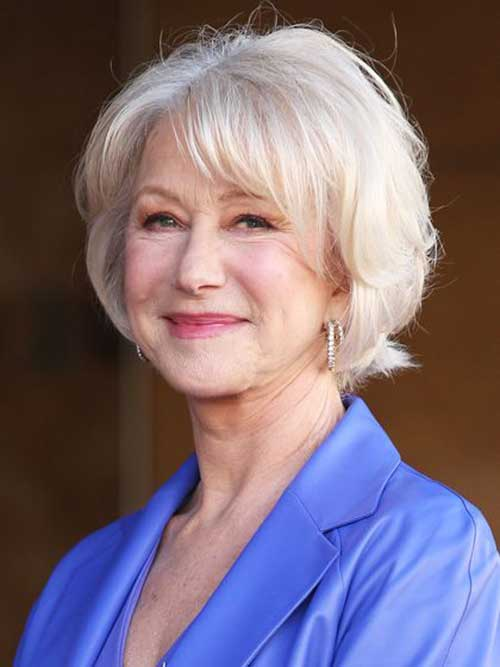 Bob Hairstyles for Older Ladies-22