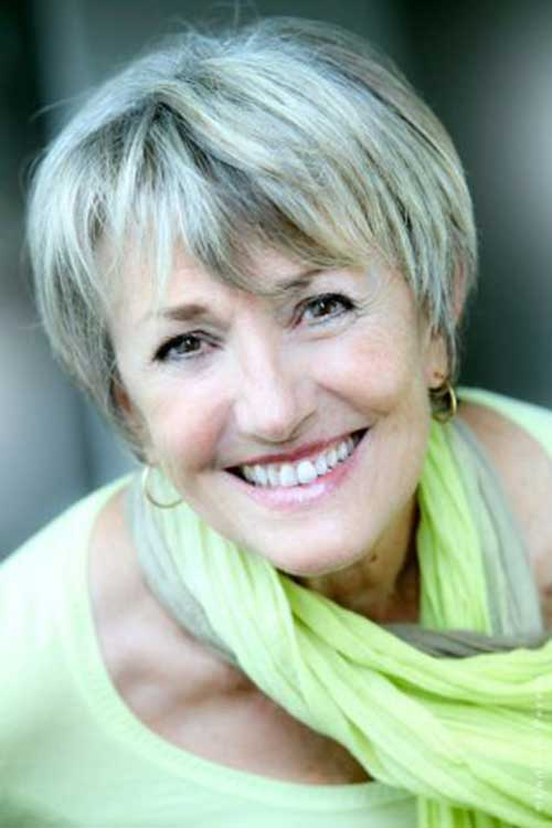 Best Short Grey Hair for Women Over 50