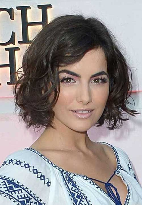 Best Long Bob Hairstyles with Waves for Round Face