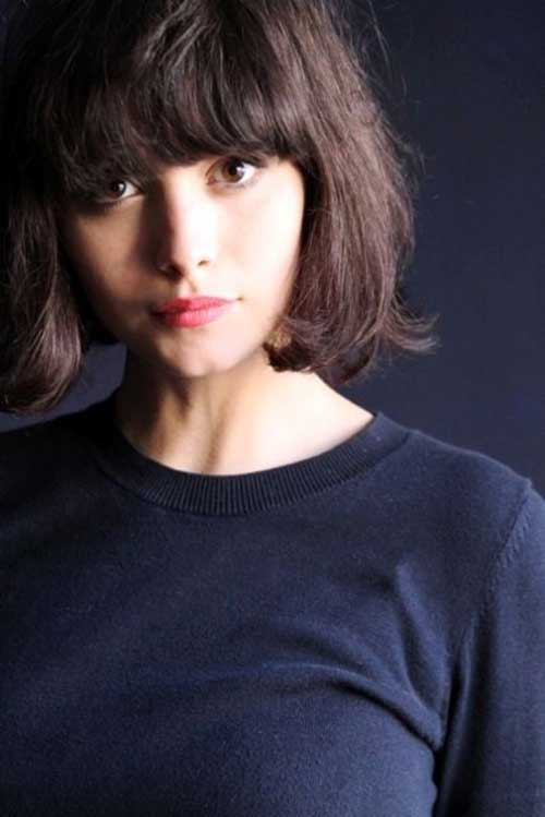Popular Bob Haircuts with Bangs Ideas