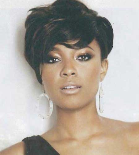 Wavy Very Short Bob Hairstyle for Black Women