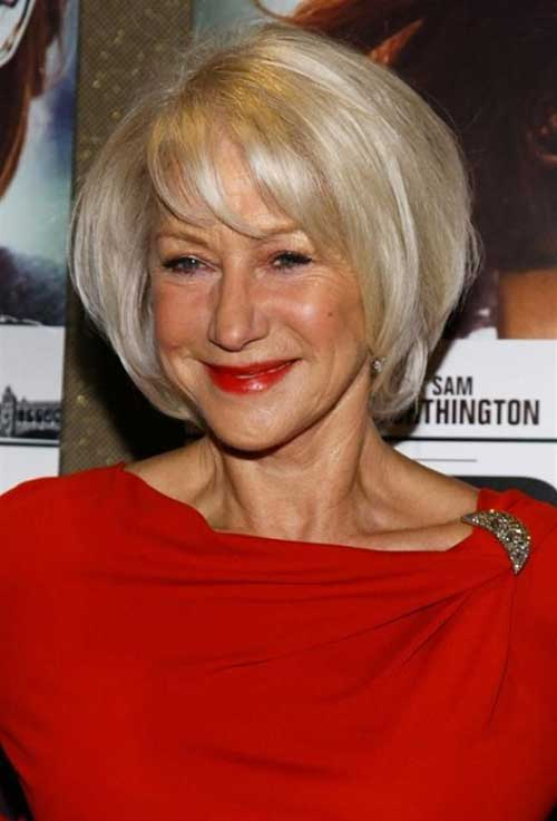Bob Hairstyles for Older Ladies-23