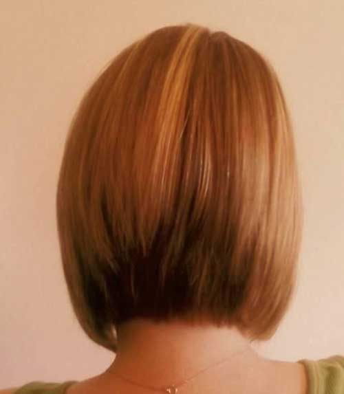 Back View Of Casual Bob Haircuts Ideas
