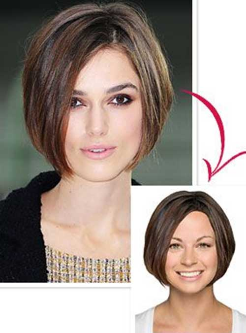 Keira Knightley Straight Hairstyles