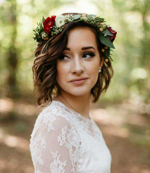 Wedding Short Hairstyles-9